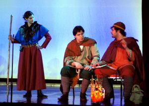 Photo from Sundown Performance: Seeress, Snorri, Saemund