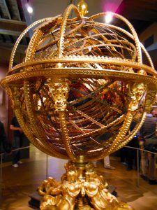 A model of the heavens, made for the Medici, at the Florentine Museum of the History of Science.